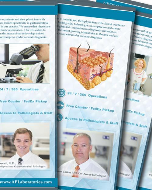 ap laboratories marketing branding graphic design