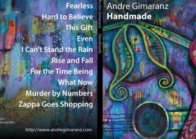 andre gimaranz cd cover graphic design