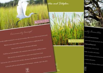 bowen sales sheet graphic design