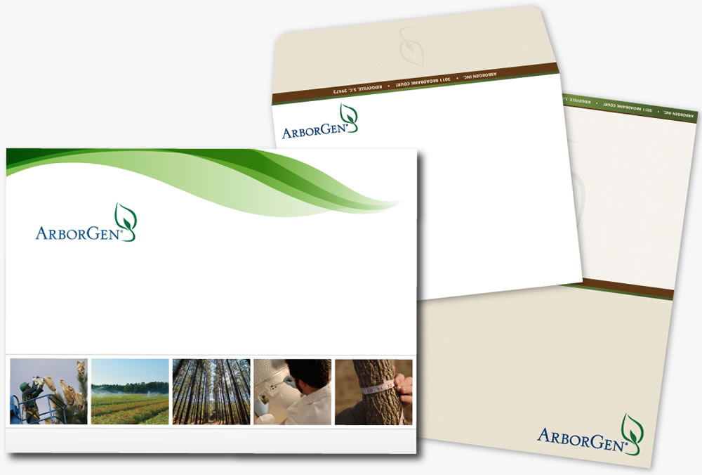 commercial tree company branding