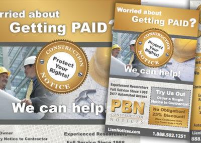pbn advertisement graphic design