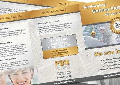 pbn brochure graphic design