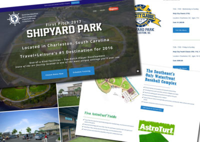 Shipyard Park Website