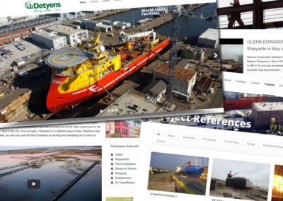 Detyens Shipyards Website