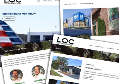 Live Oak Consultants Website