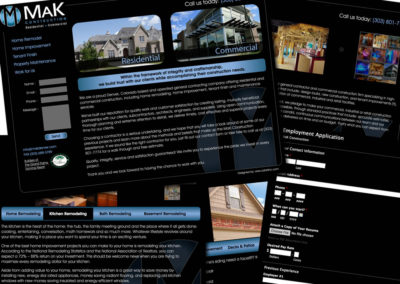 MaK Construction Website