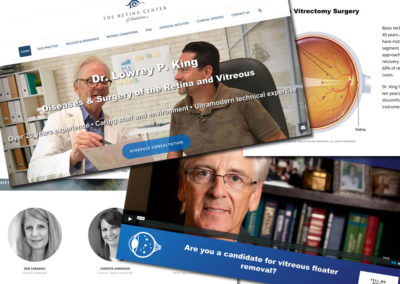 Retina Center of Charleston Website