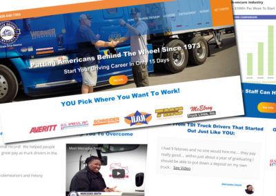 Truck Driver Institute Website